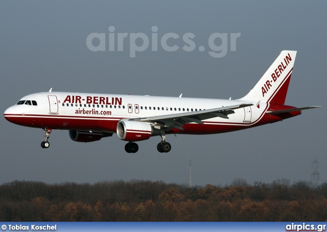 D-ABDA, Airbus A320-200, Air Berlin