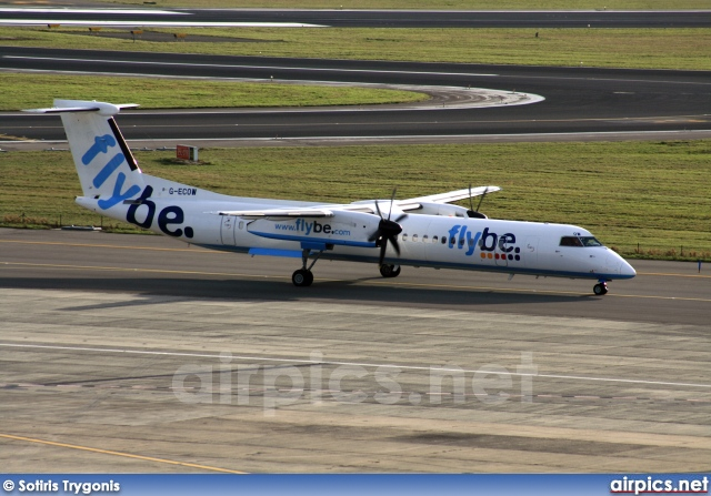 G-ECOW, De Havilland Canada DHC-8-400Q Dash 8, flybe.British European