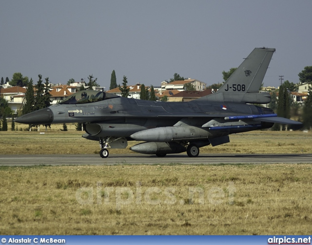 J-508, Lockheed F-16-AM Fighting Falcon, Royal Netherlands Air Force