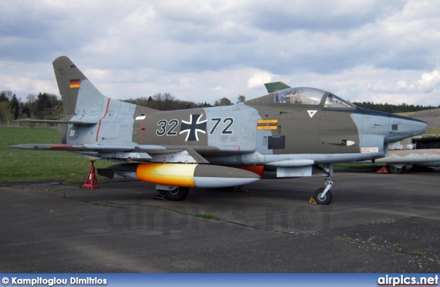 3272, Fiat G.91-R-3, German Air Force - Luftwaffe