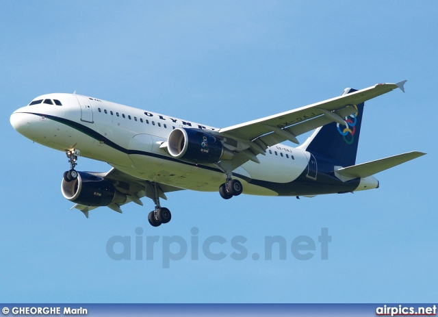 SX-OAJ, Airbus A319-100, Olympic Air