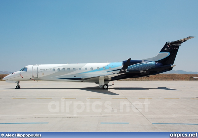 HP-1A, Embraer ERJ-135-BJ Legacy, Private