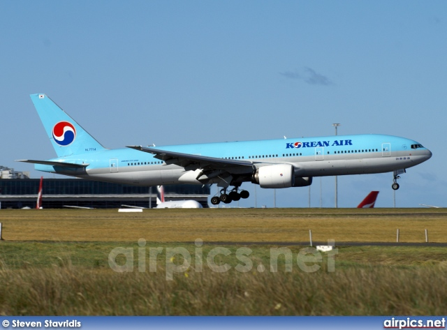 HL7714, Boeing 777-200ER, Korean Air