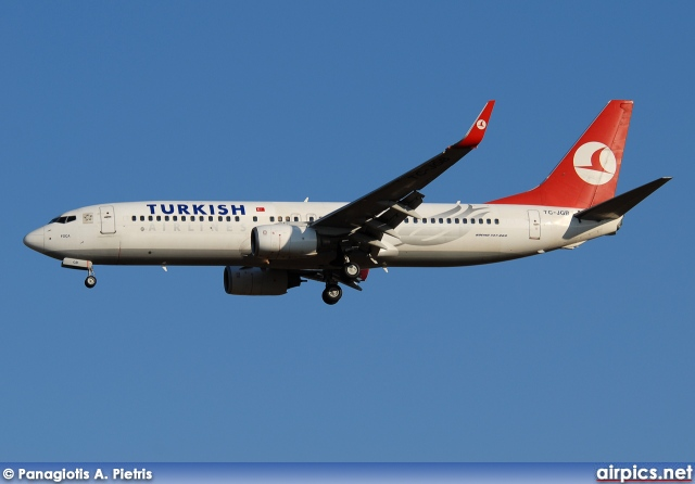 TC-JGB, Boeing 737-800, Turkish Airlines