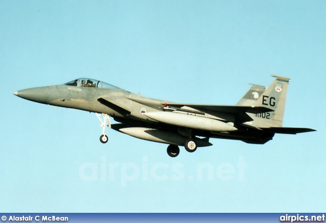 85-0102, Boeing (McDonnell Douglas) F-15-C Eagle, United States Air Force