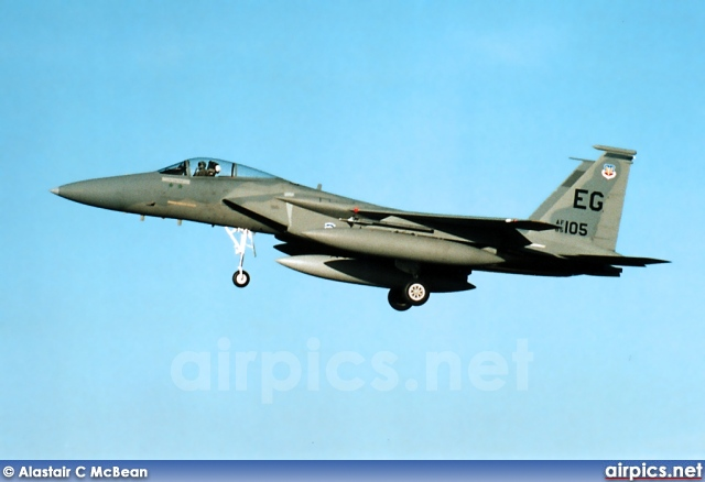 85-0105, Boeing (McDonnell Douglas) F-15-C Eagle, United States Air Force