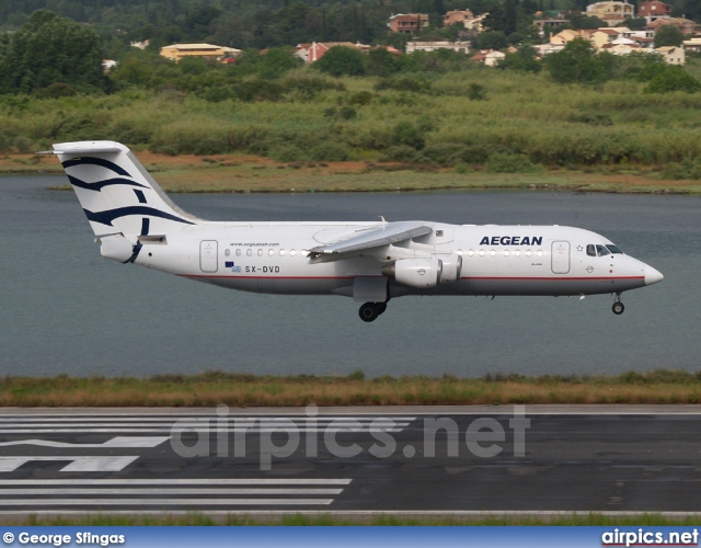 SX-DVD, British Aerospace Avro RJ100, Aegean Airlines