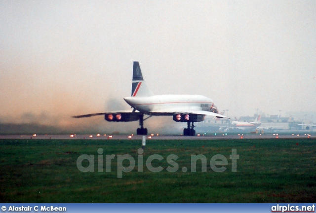 G-BOAE, Aerospatiale-BAC Concorde -102, British Airways