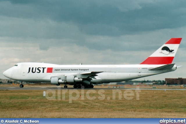 JA8160, Boeing 747-200F(SCD), JUST - Japan Universal Systems Transport