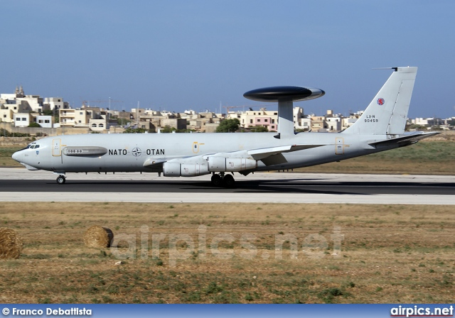 LX-N90459, Boeing E-3-A Sentry, NATO - Luxembourg