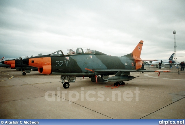 MM54401, Fiat G.91-T-1, Italian Air Force