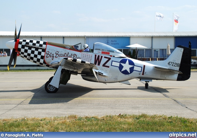 G-HAEC, North American P-51-D Mustang, Private