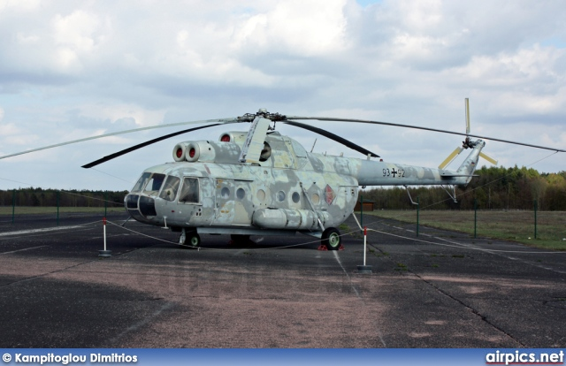 93-92, Mil Mi-9-IV, German Air Force - Luftwaffe