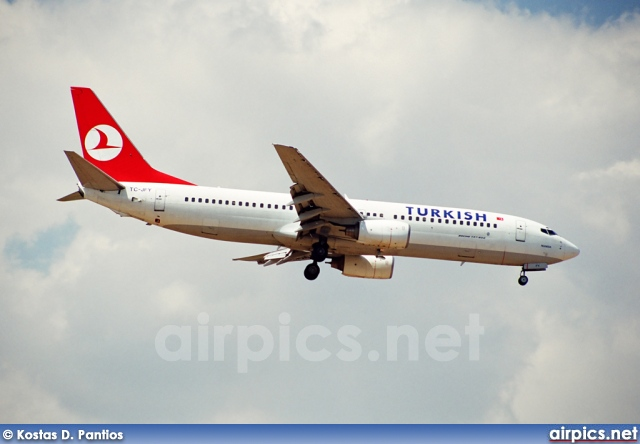 TC-JFY, Boeing 737-800, Turkish Airlines