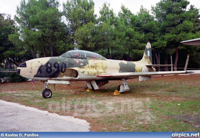 35890, Lockheed T-33-A, Hellenic Air Force