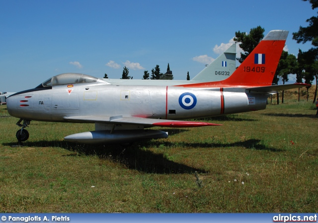 19409, Canadair CL-13 Sabre-Mk.2, Hellenic Air Force