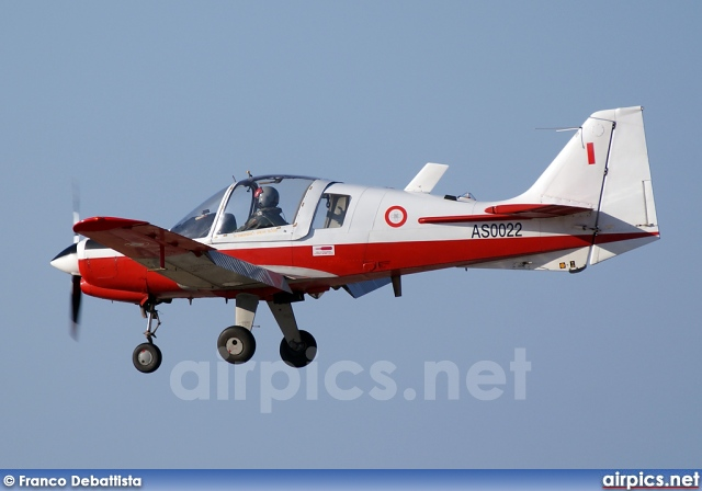 AS0022, Scottish Aviation Bulldog-T1, Malta Air Force