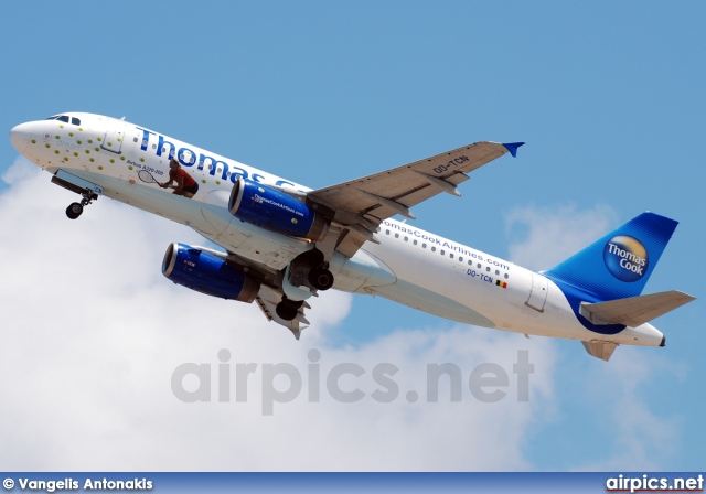 OO-TCN, Airbus A320-200, Thomas Cook Airlines (Belgium)