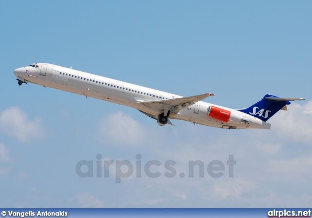 LN-RLF, McDonnell Douglas MD-82, Scandinavian Airlines System (SAS)