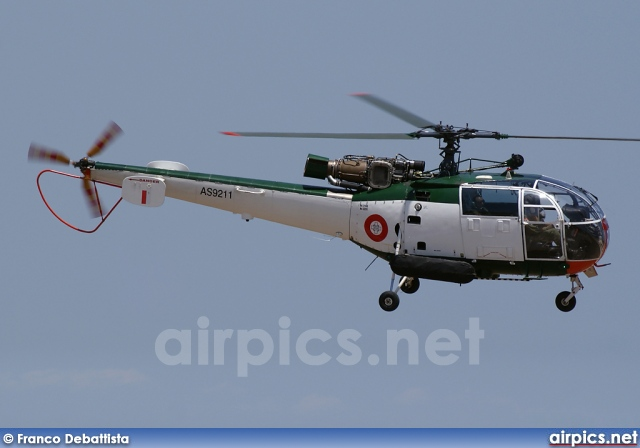 AS9211, Aerospatiale SA-316-B Alouette III, Malta Air Force