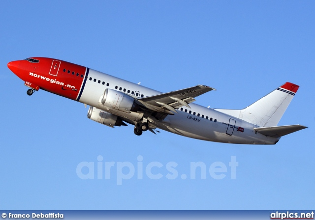 LN-KKV, Boeing 737-300, Norwegian Air Shuttle