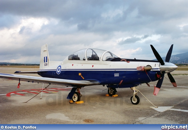028, Beechcraft T-6-A Texan II, Hellenic Air Force