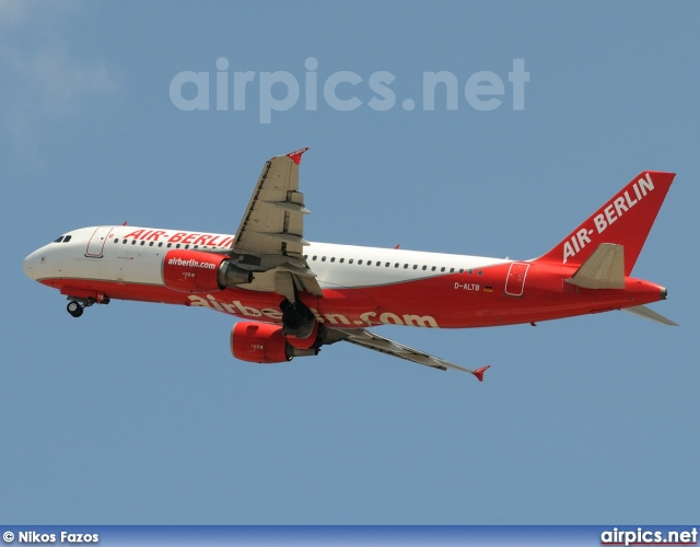 D-ALTB, Airbus A320-200, Air Berlin
