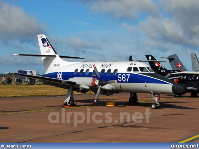 XX486, British Aerospace JetStream-T.2, Royal Navy - Fleet Air Arm
