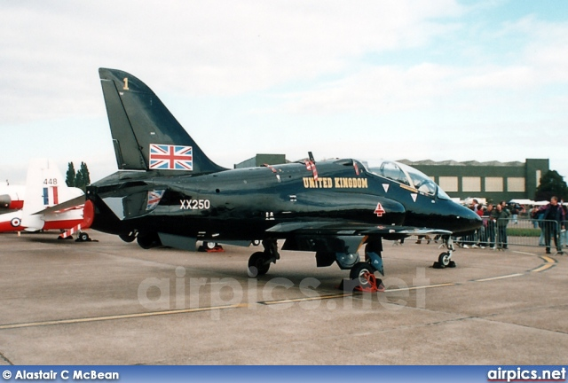 XX250, British Aerospace (Hawker Siddeley) Hawk-T.1, Royal Air Force
