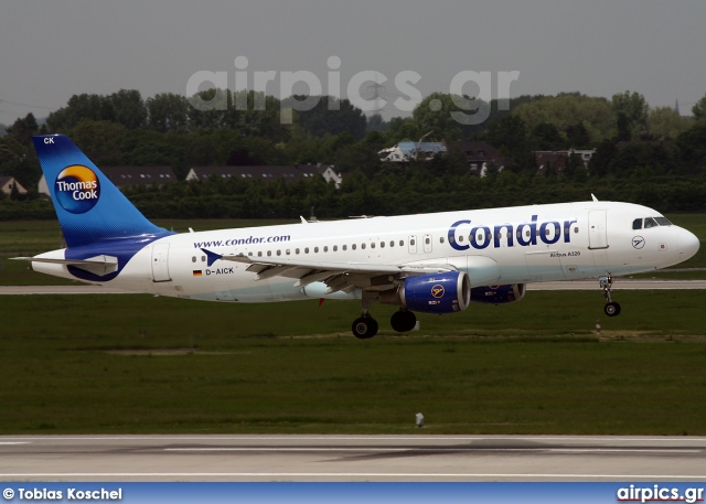 D-AICK, Airbus A320-200, Condor Airlines