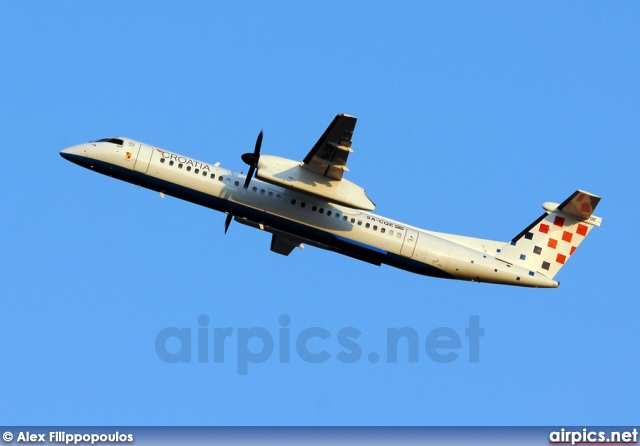 9A-CQE, De Havilland Canada DHC-8-400Q Dash 8, Croatia Airlines