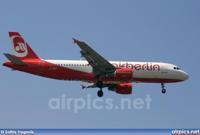 D-ABFF, Airbus A320-200, Air Berlin