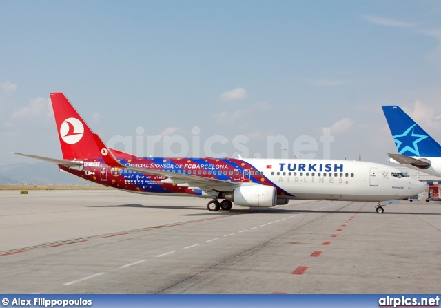 TC-JGY, Boeing 737-800, Turkish Airlines