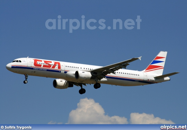OK-CEC, Airbus A321-200, CSA Czech Airlines