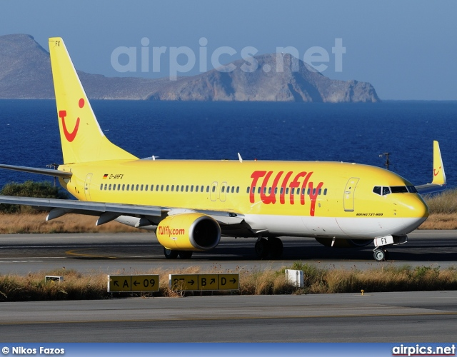 D-AHFX, Boeing 737-800, TUIfly