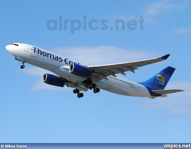 G-OJMC, Airbus A330-200, Thomas Cook Airlines