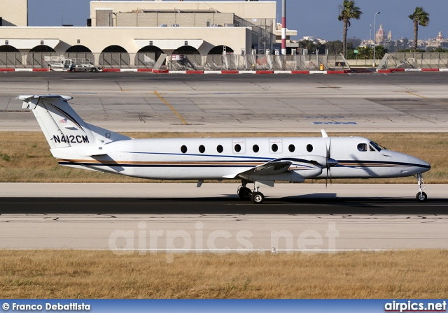 N412CM, Beechcraft 1900-C, Private