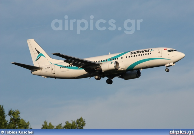 TC-TLB, Boeing 737-400, Tailwind Airlines