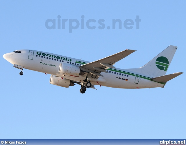 D-AGEQ, Boeing 737-700, Germania