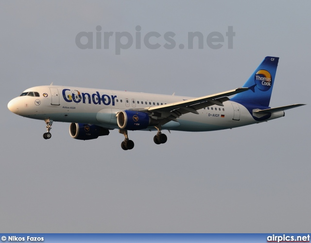 D-AICF, Airbus A320-200, Condor Airlines