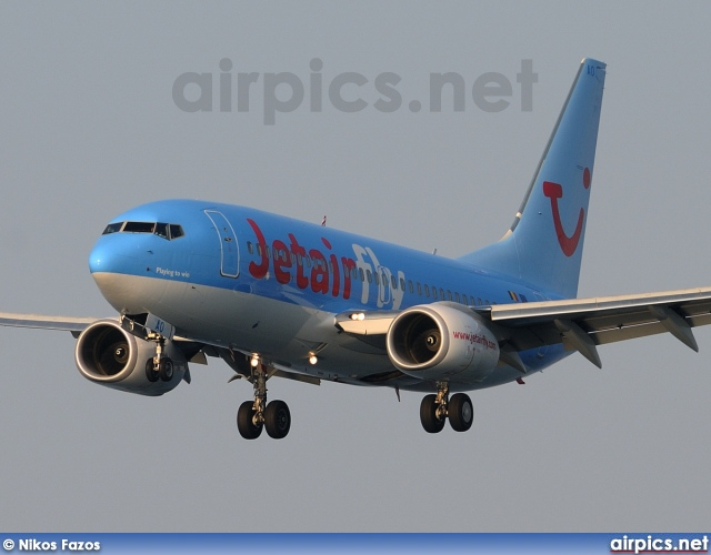 OO-JAO, Boeing 737-700, Jetairfly