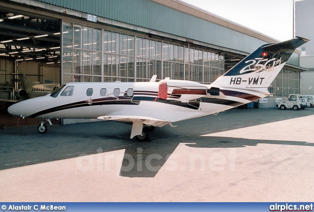 HB-VMT, Cessna 525-CitationJet CJ1, Private