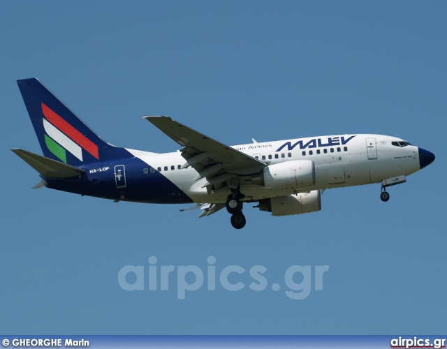 HA-LOF, Boeing 737-600, MALEV Hungarian Airlines