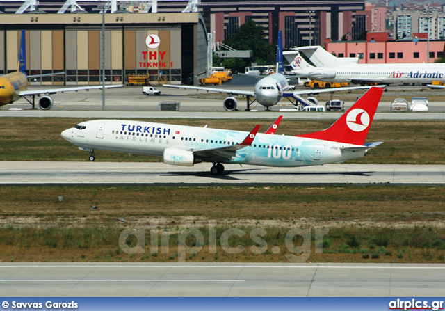 TC-JGU, Boeing 737-800, Turkish Airlines
