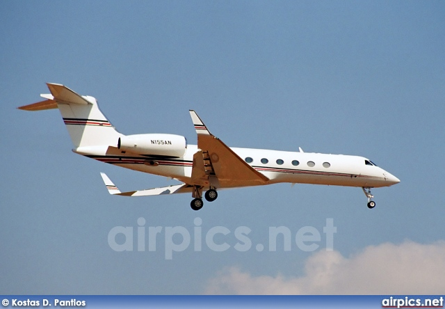 N155AN, Gulfstream V, Private