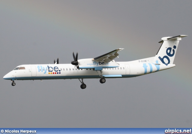 G-ECOE, De Havilland Canada DHC-8-400Q Dash 8, flybe.British European