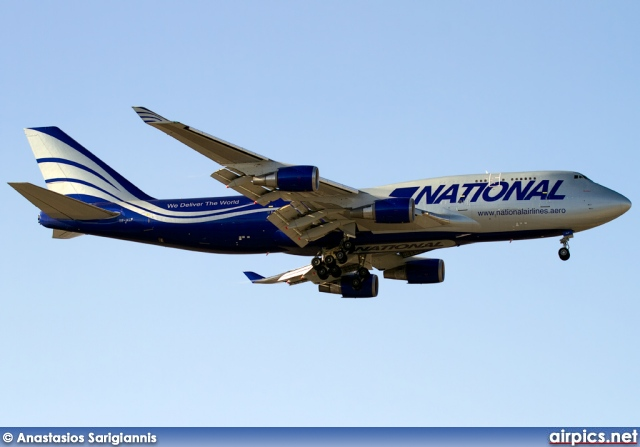 TF-ALF, Boeing 747-400(BCF), National Airlines