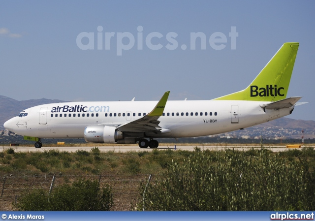 YL-BBY, Boeing 737-300, Air Baltic
