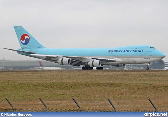 HL7462, Boeing 747-400F(SCD), Korean Air Cargo