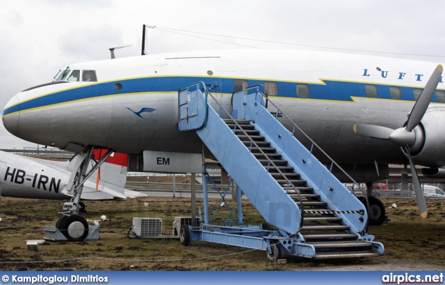 D-ALEM, Lockheed Super Constellation-L1049G, Lufthansa